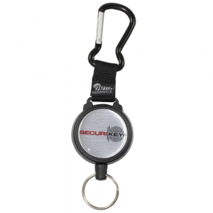 Securikey Karabiner Key Reel with Kevlar Cord - Pack Each