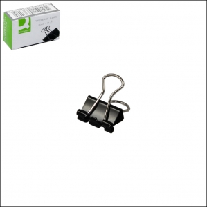 Foldback Clip 16mm Black - Pack 10