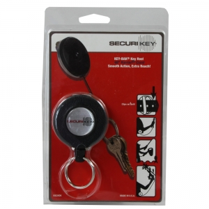 Heavy Duty Key Reel 1200mm Black - Pack Each