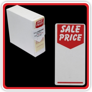 "S/A Removable Label ""SALE PRICE"" 25 x 51mm (1x2"") - Pack 500"