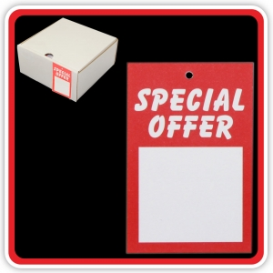 "UnStrung Sale Ticket ""SPECIAL OFFER"" 75x50mm  - Bulk Box 1000"
