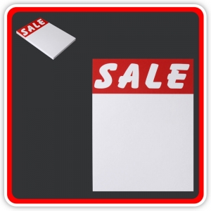 "Sale Cards 'SALE' 150 x 100mm (6x4"") - Pack 24"