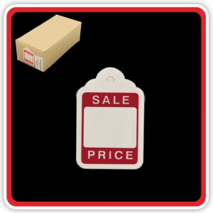 "SupaTickets UnStrung Traditional Sale Ticket Printed ""Sale Price"" 46m x 30mm - Bulk Box 1000"