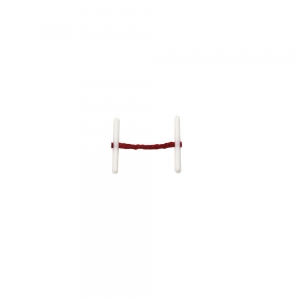 Treasury Tag Red Plastic End 25mm - Pack 20